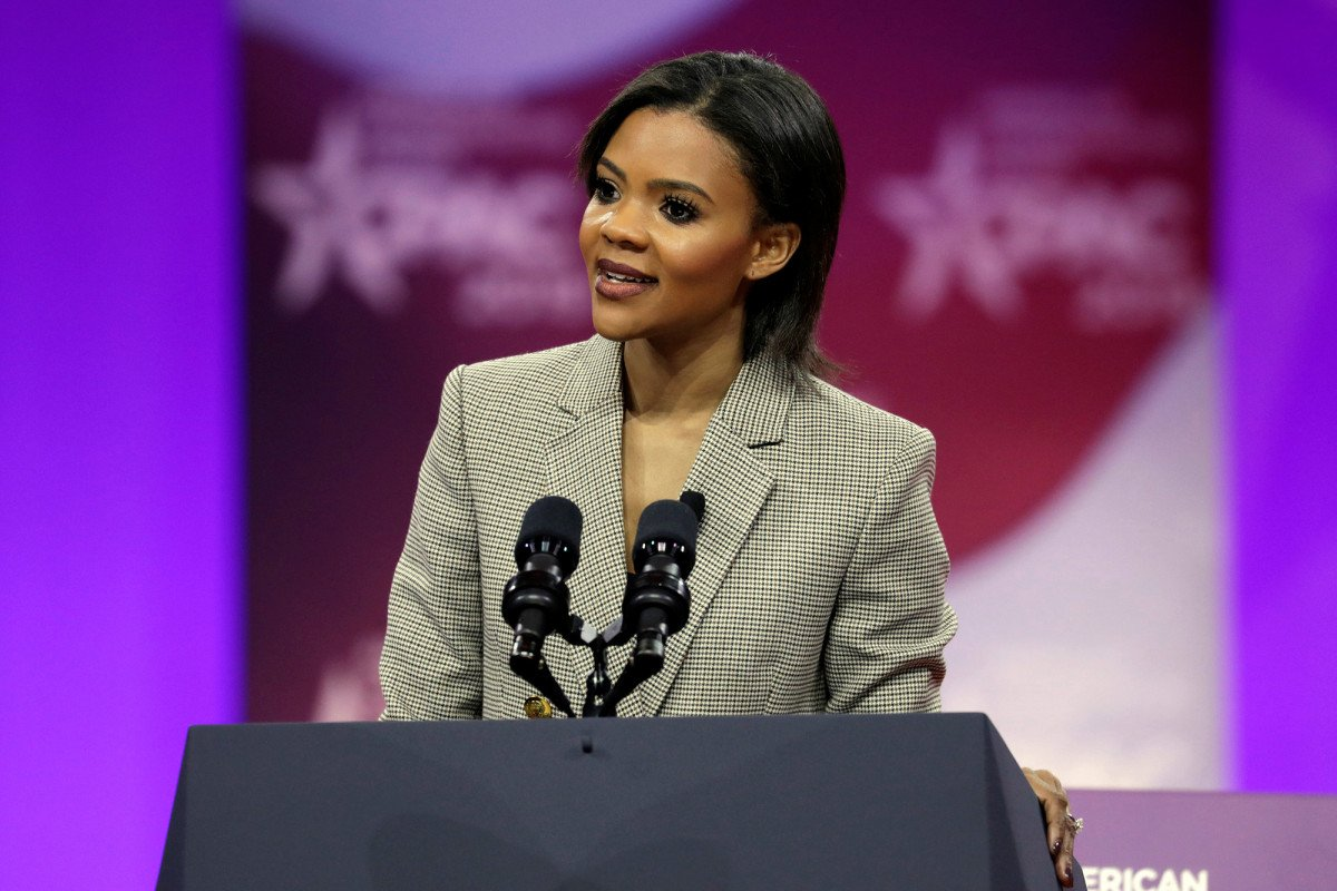 New York Post's photo on Candace Owens