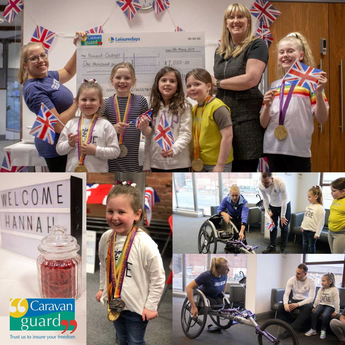 Dare to dream...That was the message from five time Paralympic Champion Hannah Cockroft when she visited our team this week. She answered lots of questions from staff and their children as we continue to sponsor Hannah on her journey to the Tokyo 2020 Games.  @HCDream2012 <br>http://pic.twitter.com/m4JqdkOd3q