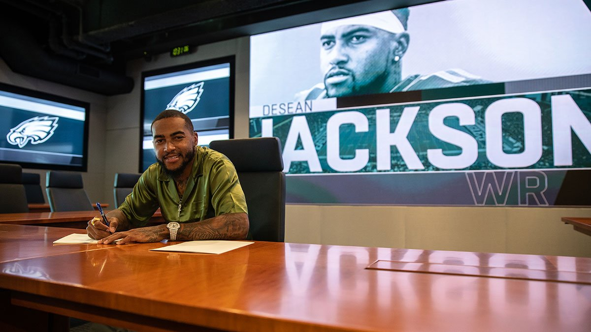 'I'm just looking forward to winning' - WR DeSean Jackson  ��: https://t.co/Kj8WFVekfT  #FlyEaglesFly https://t.co/de1iclgH7l