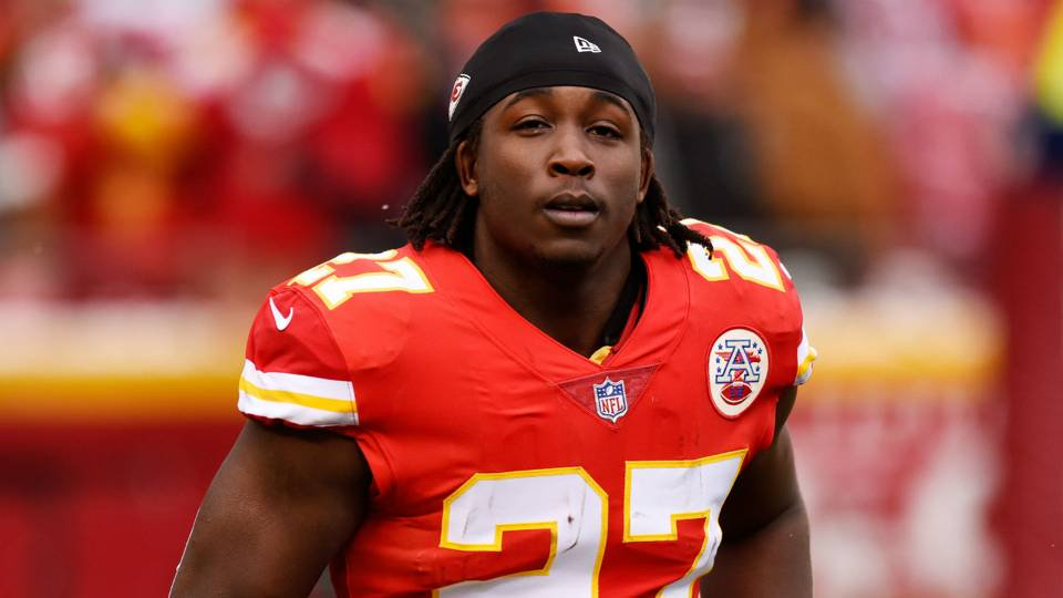 Sporting News NFL's photo on RB Kareem Hunt