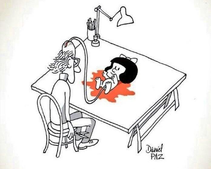 🇵🇪 Jenny Ramirez's photo on #Mafalda