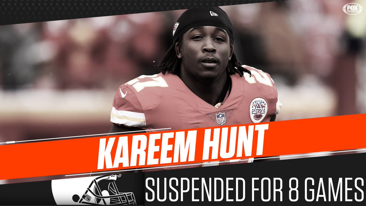 FOX Sports: NFL's photo on RB Kareem Hunt