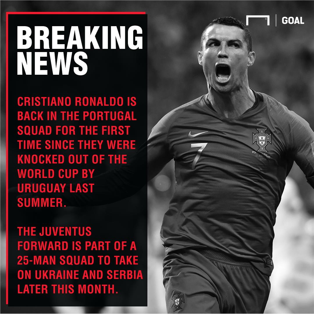 Goal's photo on Ronaldo