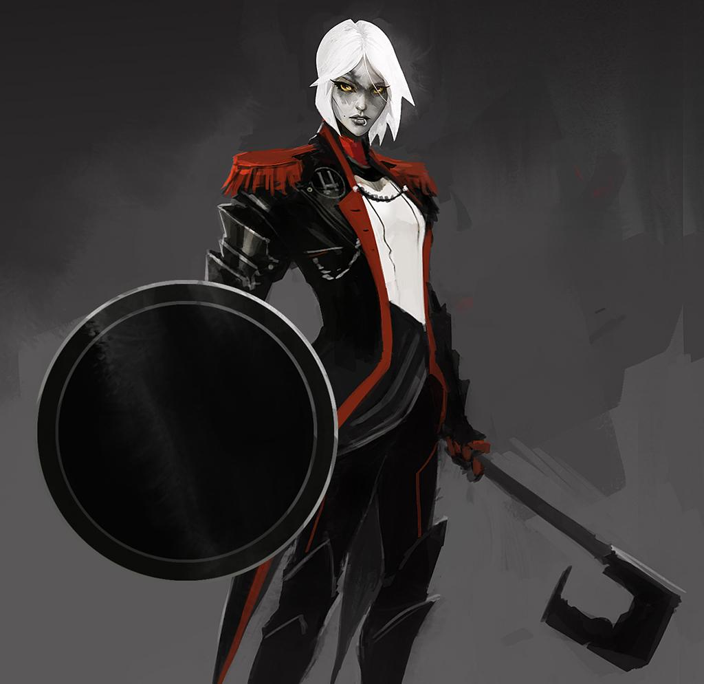 This Friday, we introduce you to the last class from Othercide! With her shield and deadly spear, the Shieldbearer - formerly known as the Knight - will protect her sisters until death.   Read more:  http:// othercidegame.com/shieldbearer-c lass-othercide/ &nbsp; …   #fridayreads #gamedev #indiedev #devblog #indiegame<br>http://pic.twitter.com/5HLdS9RaLg