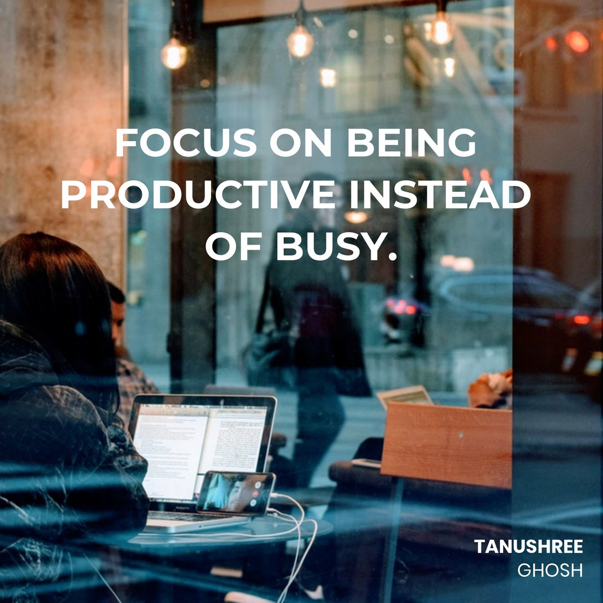 Focus On Being Productive Instead Of Busy.  #FearlessFriday #FridayReads #FactFriday<br>http://pic.twitter.com/TDz5Cl0kcK