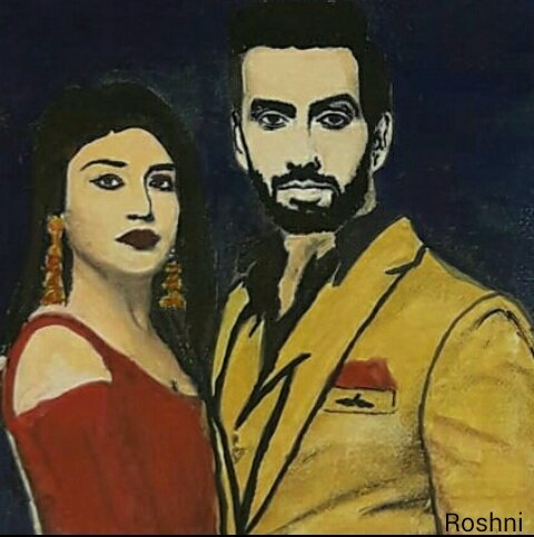 With my entire heart filled in joy and happiness, I finally can enjoy after the long sustained woes. I made this painting for all the shivika fans, hope you all like it. RT and celebrate our victory. #ShivikaKaIshqbaaaz <br>http://pic.twitter.com/kTZ0sIcRMR