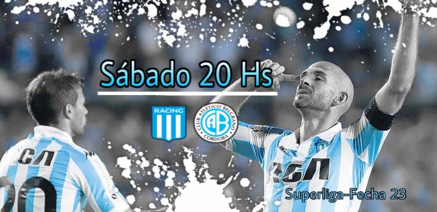 Racing Positivo's photo on Fecha 23