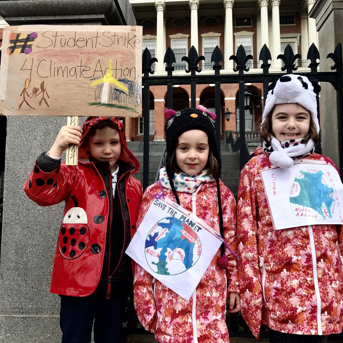 Sarah Matusek's photo on #YouthCimateStrike