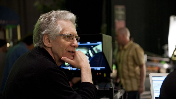 Wishing a happy 76th birthday to David Cronenberg! SCANNERS screens on on 4/12: