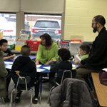 Image for the Tweet beginning: G2 families experience Guided Reading