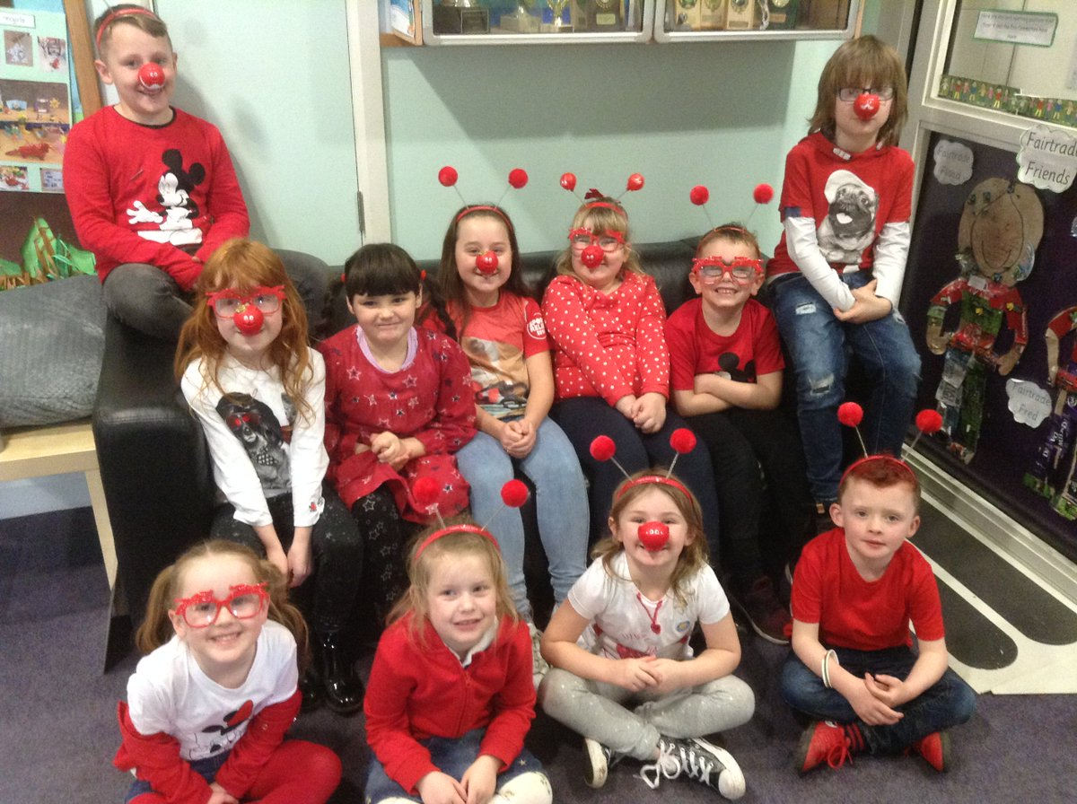 Goytre Fawr Primary's photo on Comic Relief