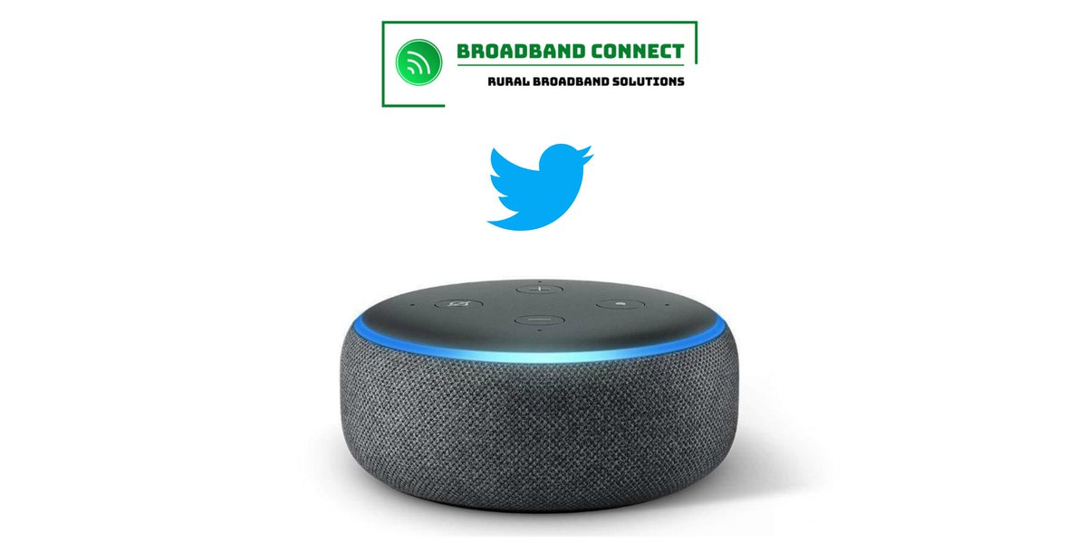 Follow us on Twitter @BroadbandConn &amp; retweet this post for your chance to win an Echo Dot. Competition ends at midnight on March 31. Winner will be drawn at 12pm on April 1 and announced on our Twitter feed. #CompetitionTime #competition #contest #giveaway #gadget #tech #device<br>http://pic.twitter.com/LyW1KWr25T
