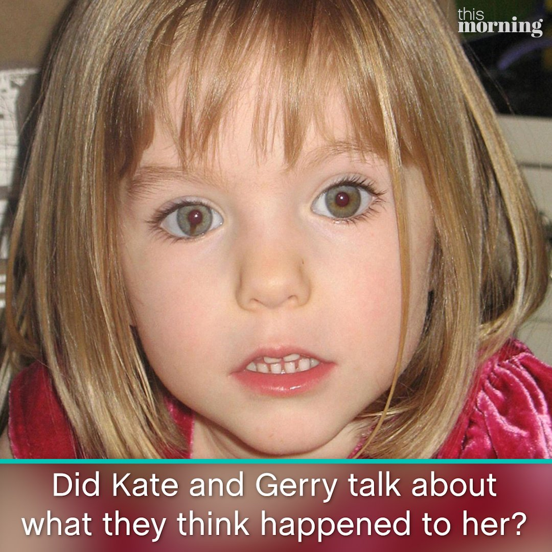 This Morning's photo on Gerry McCann