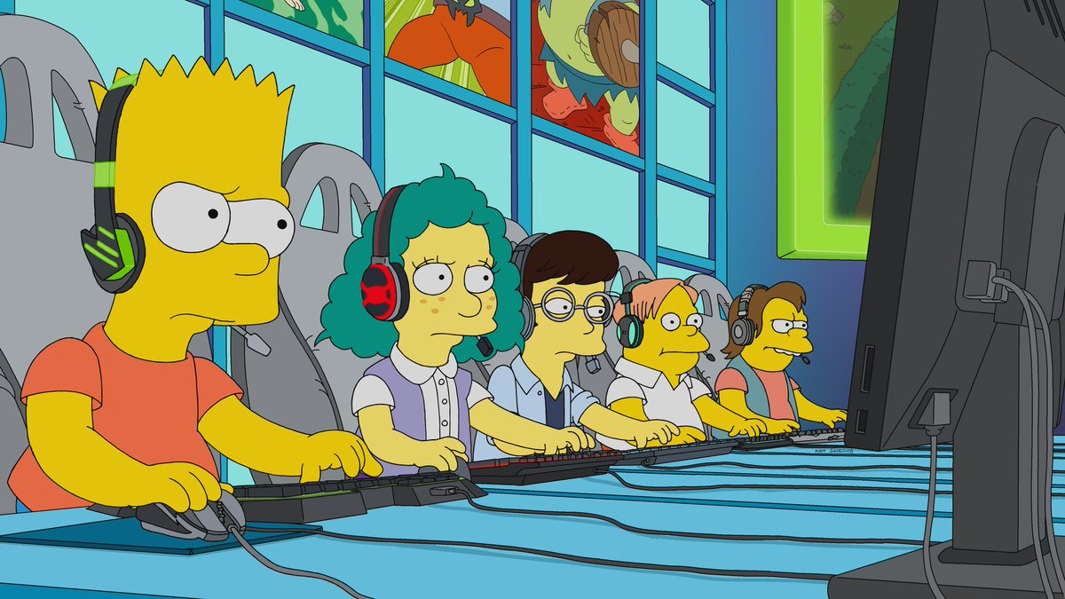This feels...familiar... 🤔🤔🤔 @TheSimpsons
