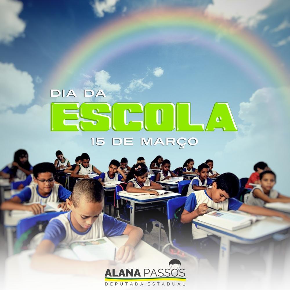 Alana Passos's photo on #DiaDaEscola