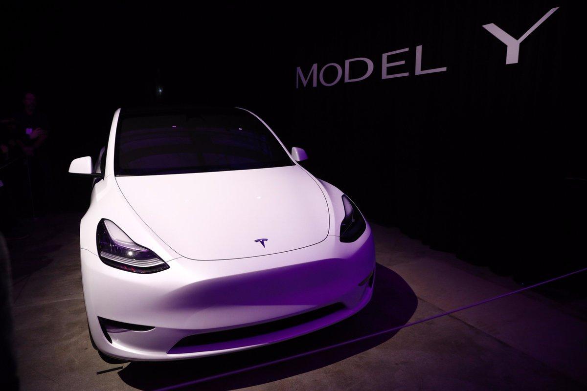 El Financiero's photo on Model Y