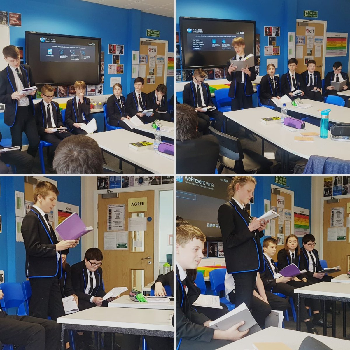 Mrs Griffiths' Year 9s have been working on their debating skills today.  The statement: Victorian children were failed by society. #debates #history #persuasivewriting