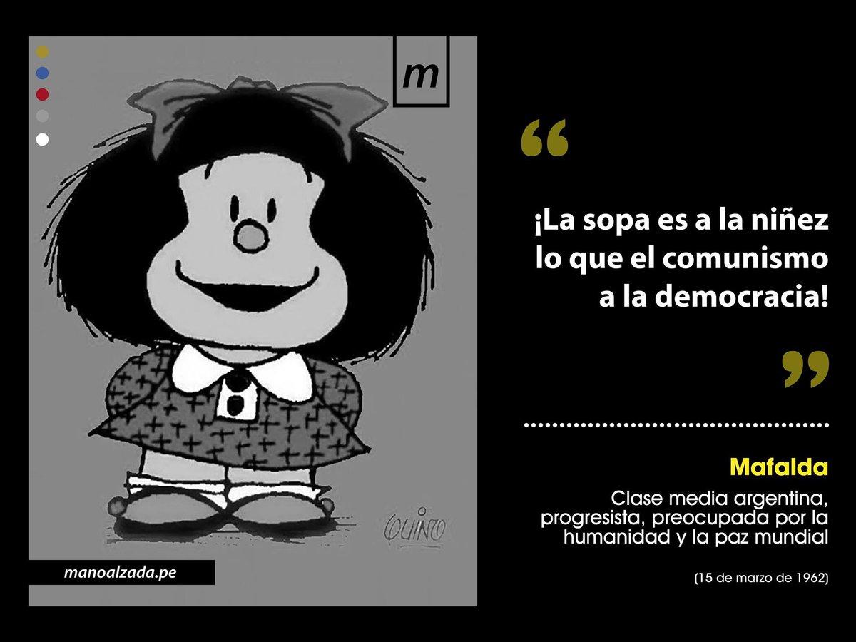 Mano Alzada's photo on #Mafalda