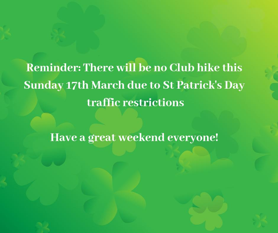 The Hillwalkers Club's photo on #StPatricksDay2019