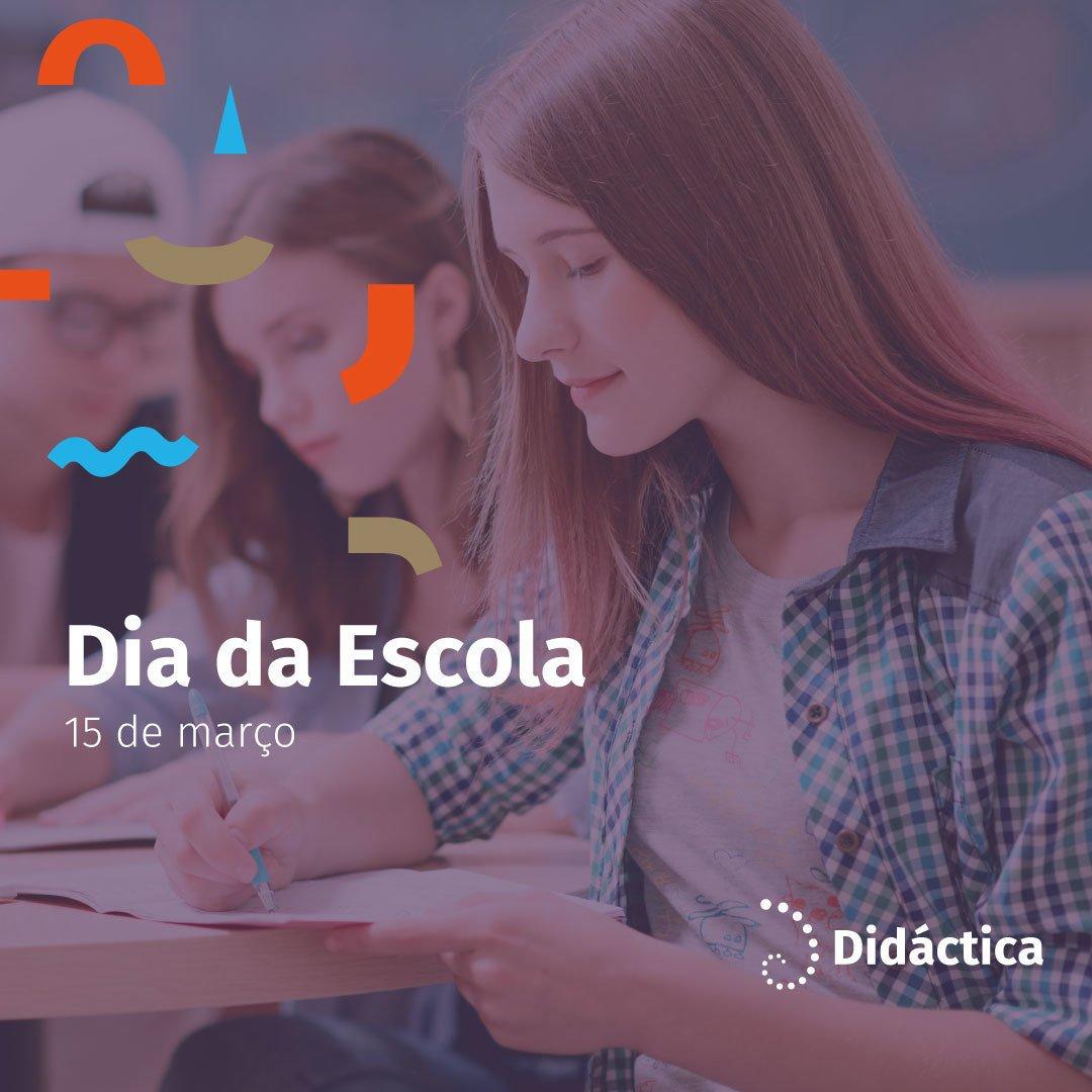 Didáctica's photo on #DiaDaEscola