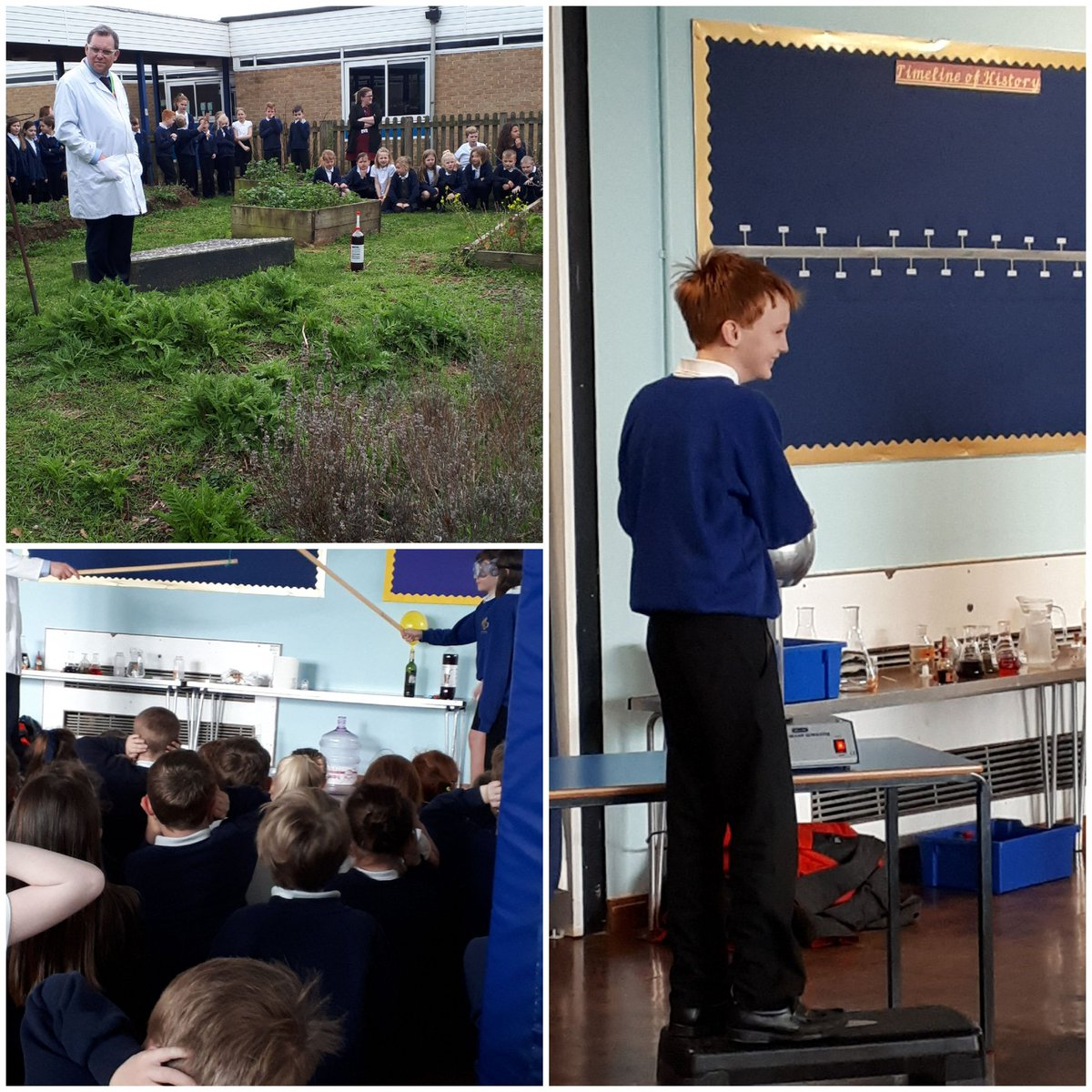test Twitter Media - RT @edith_moorhouse: @CartertonCC Thank you for an amazing science assembly Mr Taylor. We loved it! https://t.co/bbmVXRCS54
