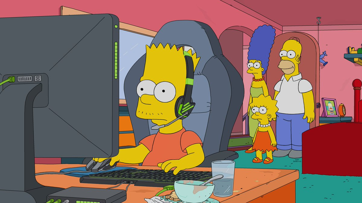 Raise your hand if this is you ✋ @TheSimpsons
