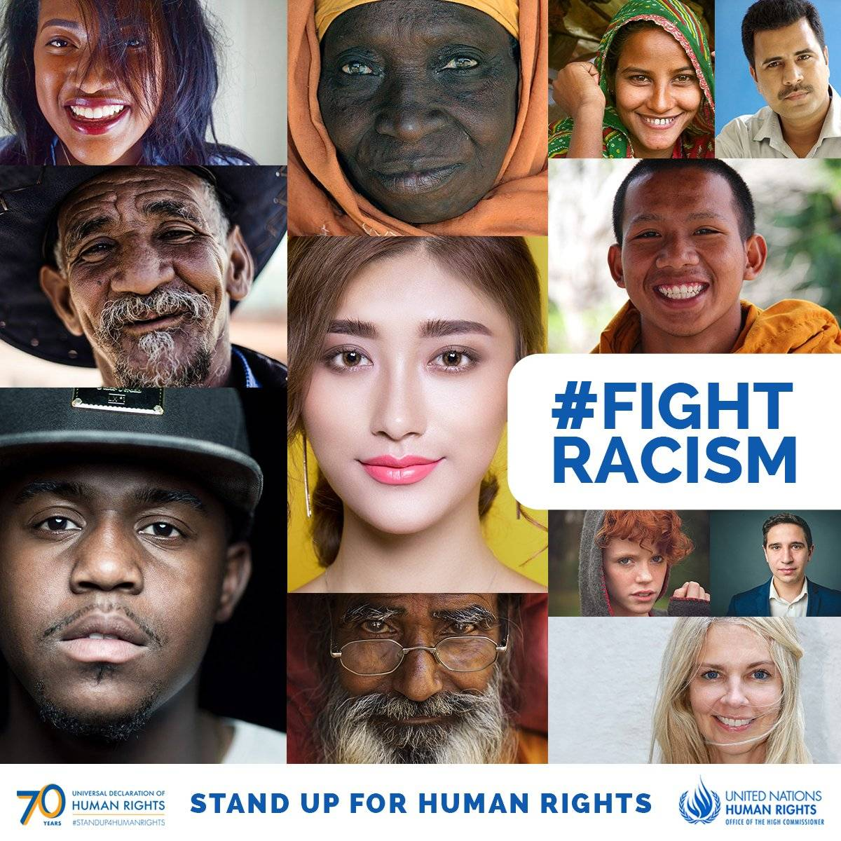 #Racismis contrary to everything we stand for. The murderous Islamophobic and terrorist attack, just hours ago, on two mosques in#NewZealandis yet another terrible reminder that racism kills. — UN Human Rights Chief@mbacheletat#HRC40.  ℹ http://ow.ly/brqd30o3H0m #FightRacism
