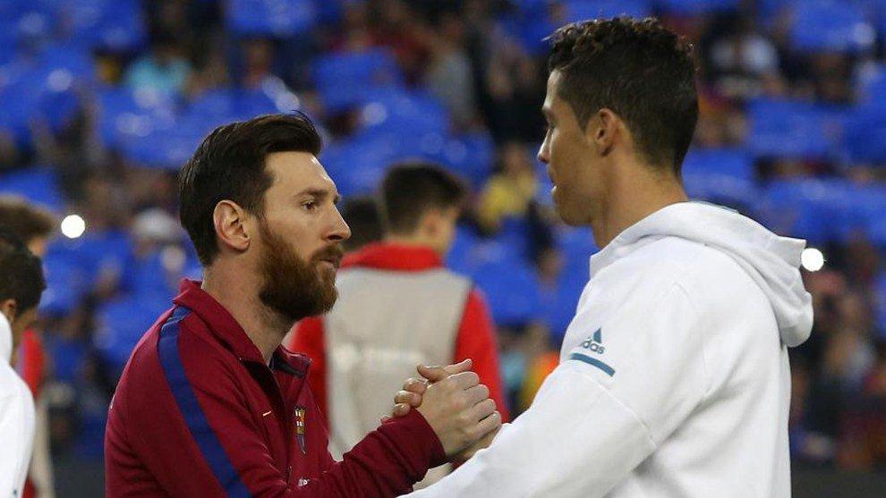GolesTV.com's photo on Messi vs Cristiano