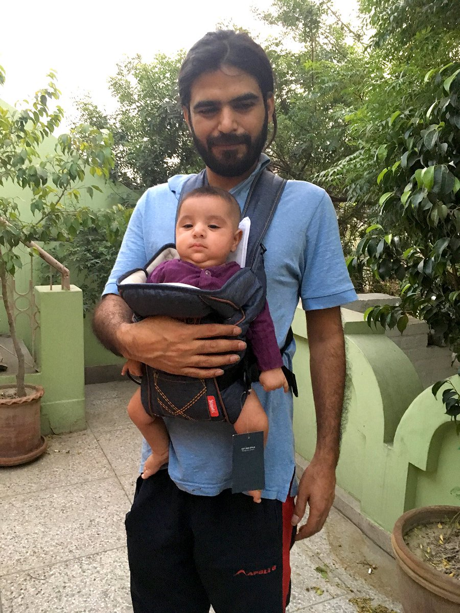 Happy Birthday, Baba. I miss you and hope you come back soon.   Mudassar Naaru with his son Sachal who was six months old at the time he went missing and now 13 months of age. Sachal has yet to make memories with his father. We hope his wish will be granted soon. LONG LIVE NAARU! <br>http://pic.twitter.com/VUc88kuwzl