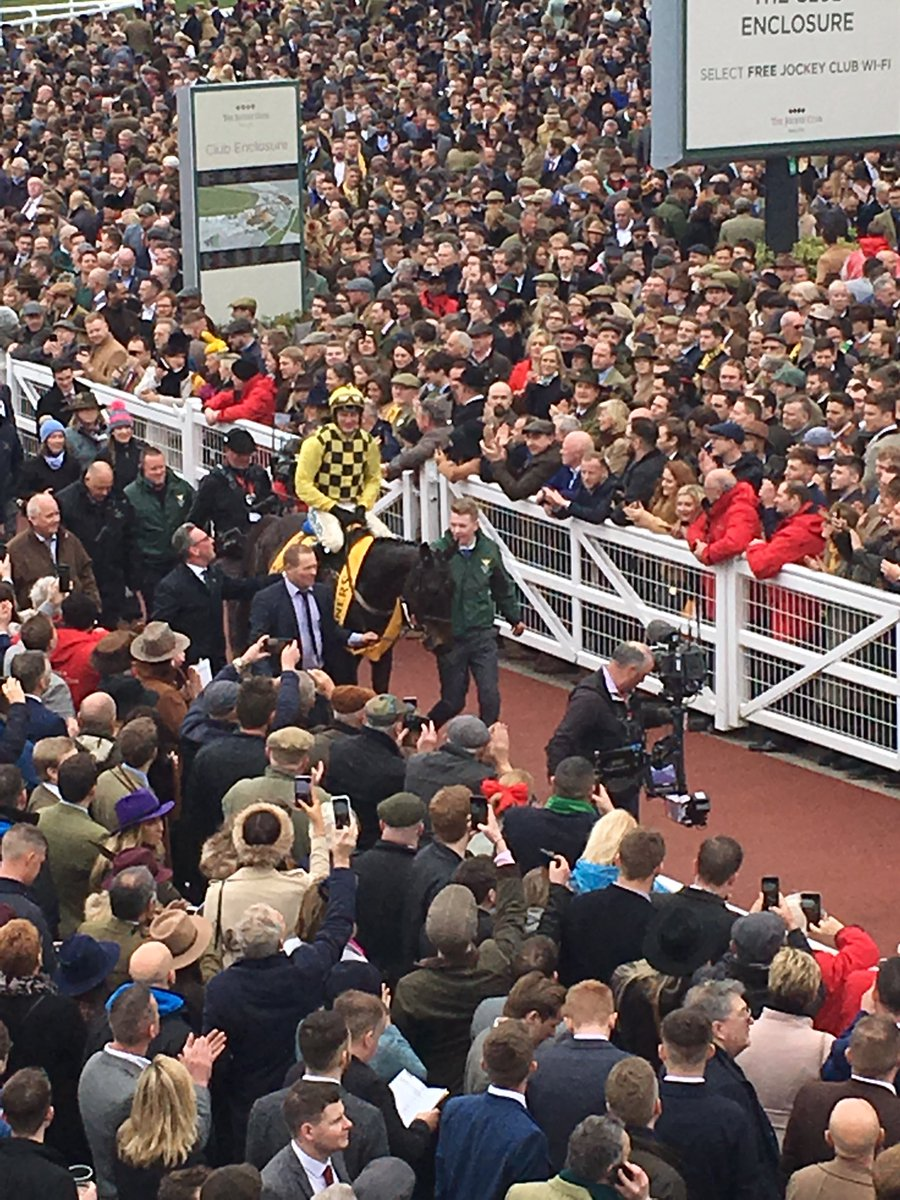 Nick Powell's photo on #CheltenhamGoldCup