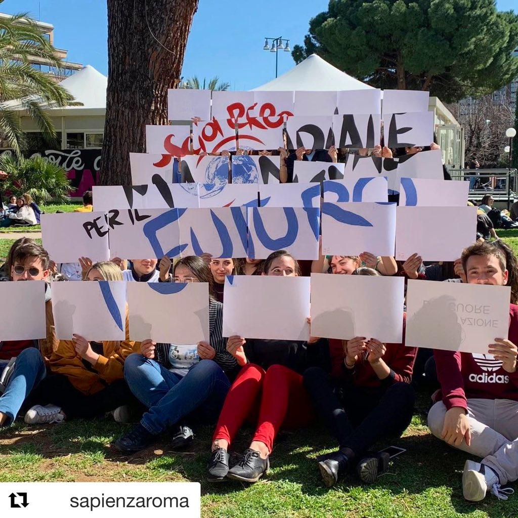 Sapienza Università di Roma's photo on #GlobalStrikeForClimate