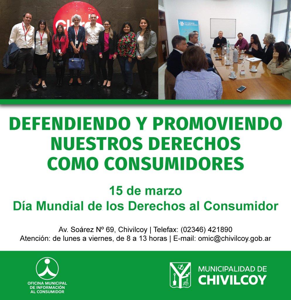 Municipalidad Chivilcoy's photo on Derechos del Consumidor