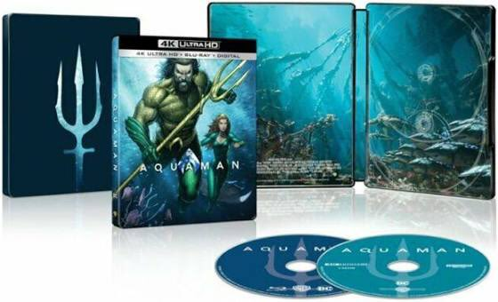 Announcing our second March #GIVEAWAY - Retweet and Follow for a chance to win #Aquaman Steelbook (Winner chosen March 29)
