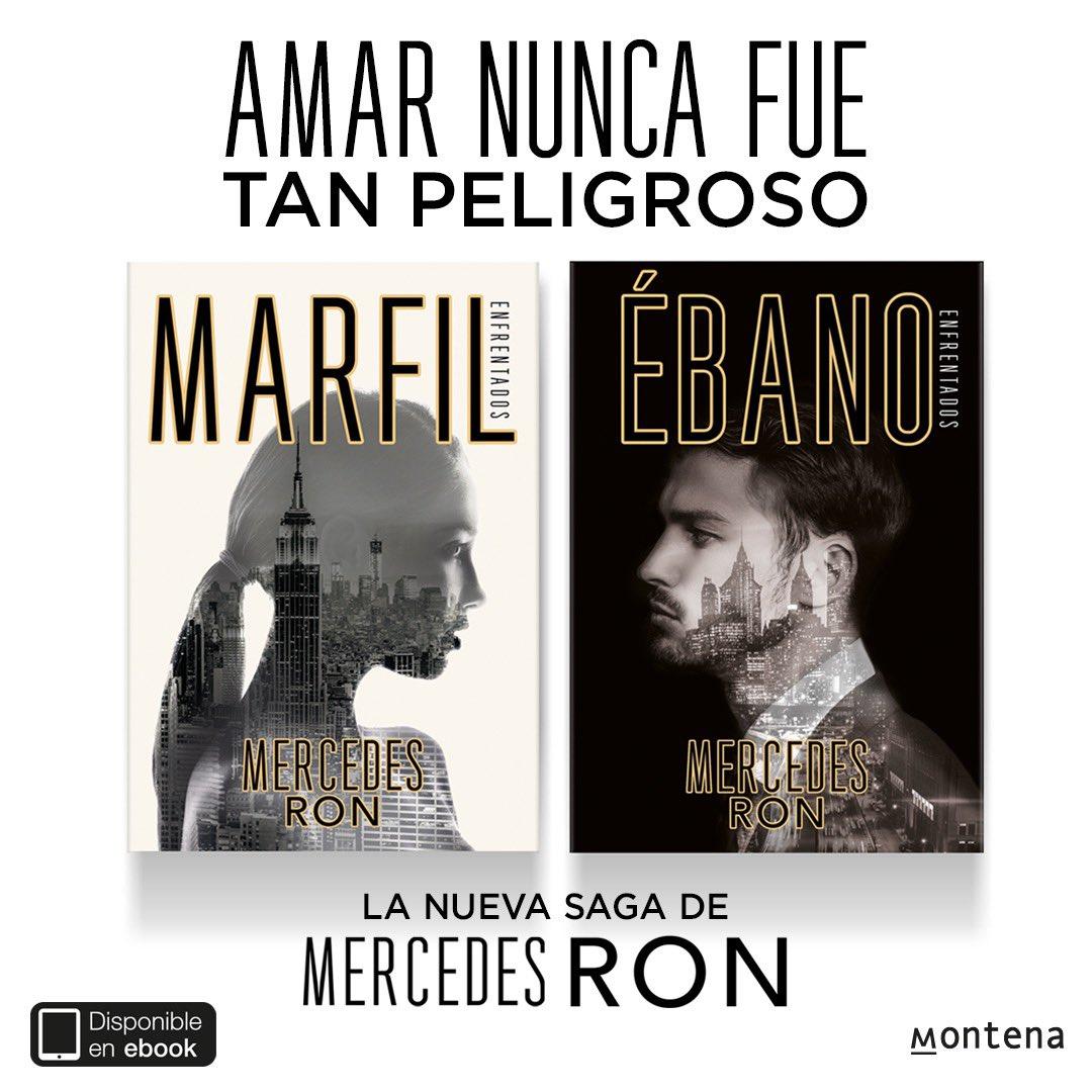 Marfil y Ébano (Saga Enfrentados) de Mercedes Ron