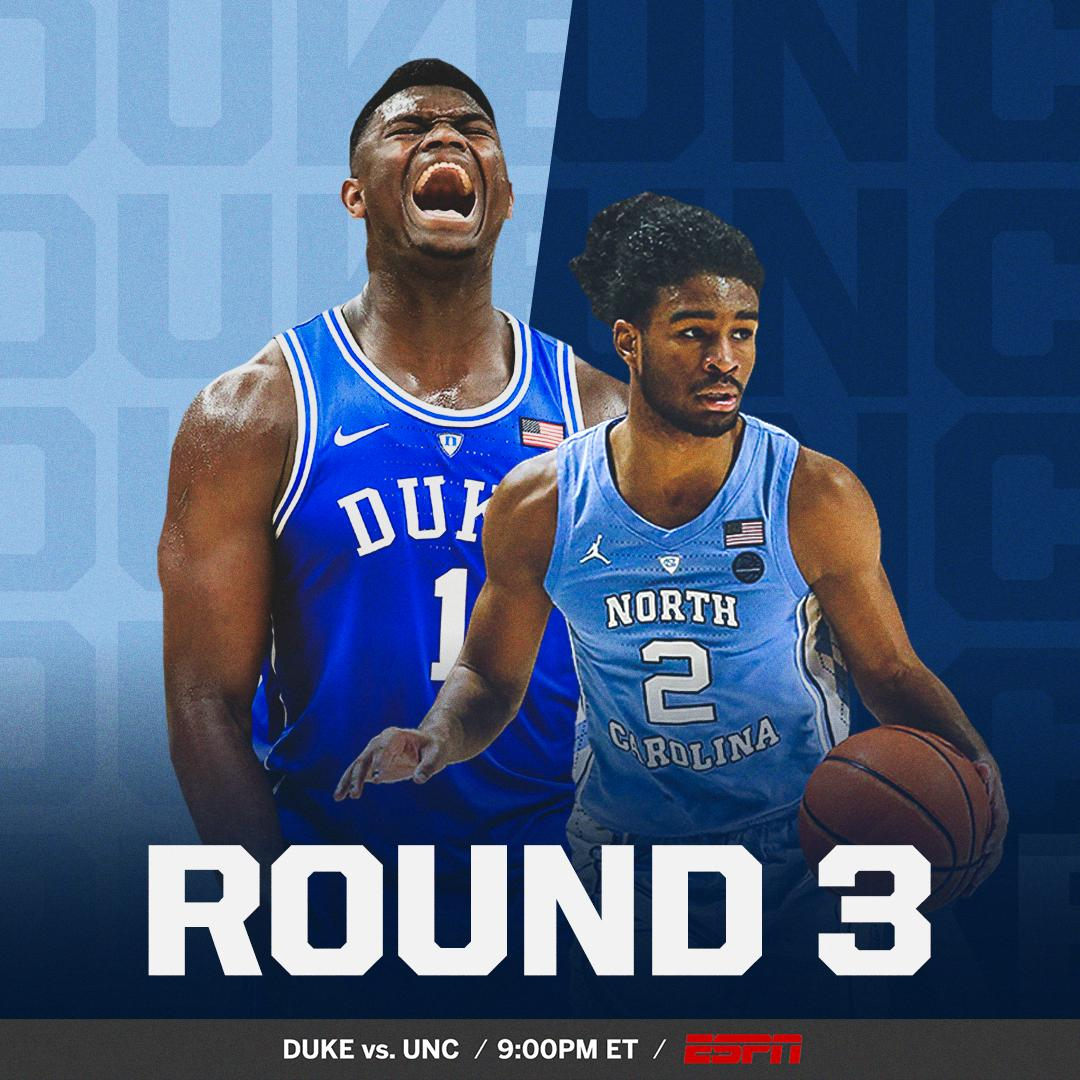 SportsCenter's photo on Duke UNC