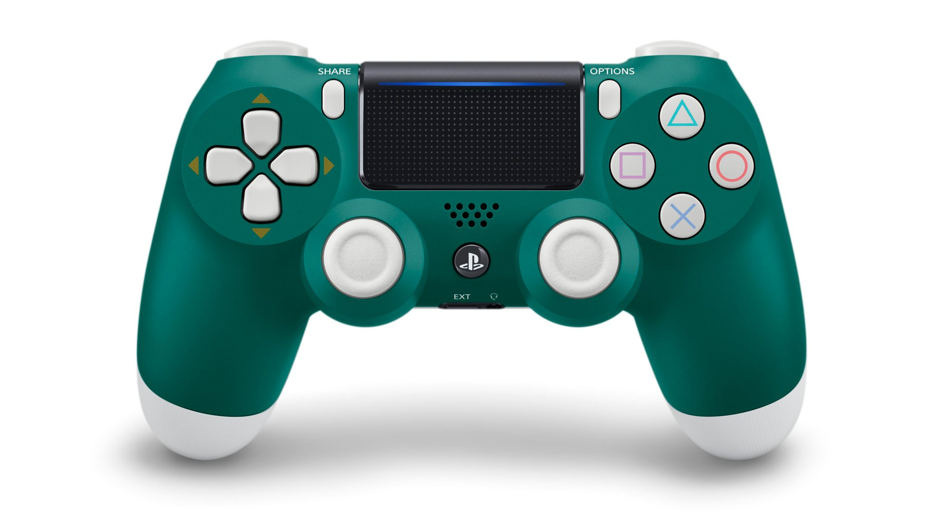 Introducing the newest member of the DualShock 4 family. Say hello to Alpine Green: https://t.co/EBsAEJFW6n https://t.co/kB6oOjKu5H