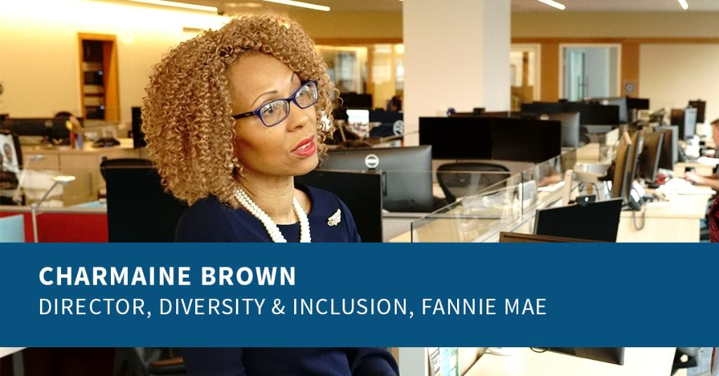 Meet Charmaine Brown, our Director of Diversity & Inclusion. Named one of #DiversityJournal's #WomenWorthWatching, she has led pivotal inclusivity efforts throughout her 23 years at Fannie Mae, earning awards from @NatUrbanLeague, @FiveStarInst, and the CIFS. #WomensHistoryMonth