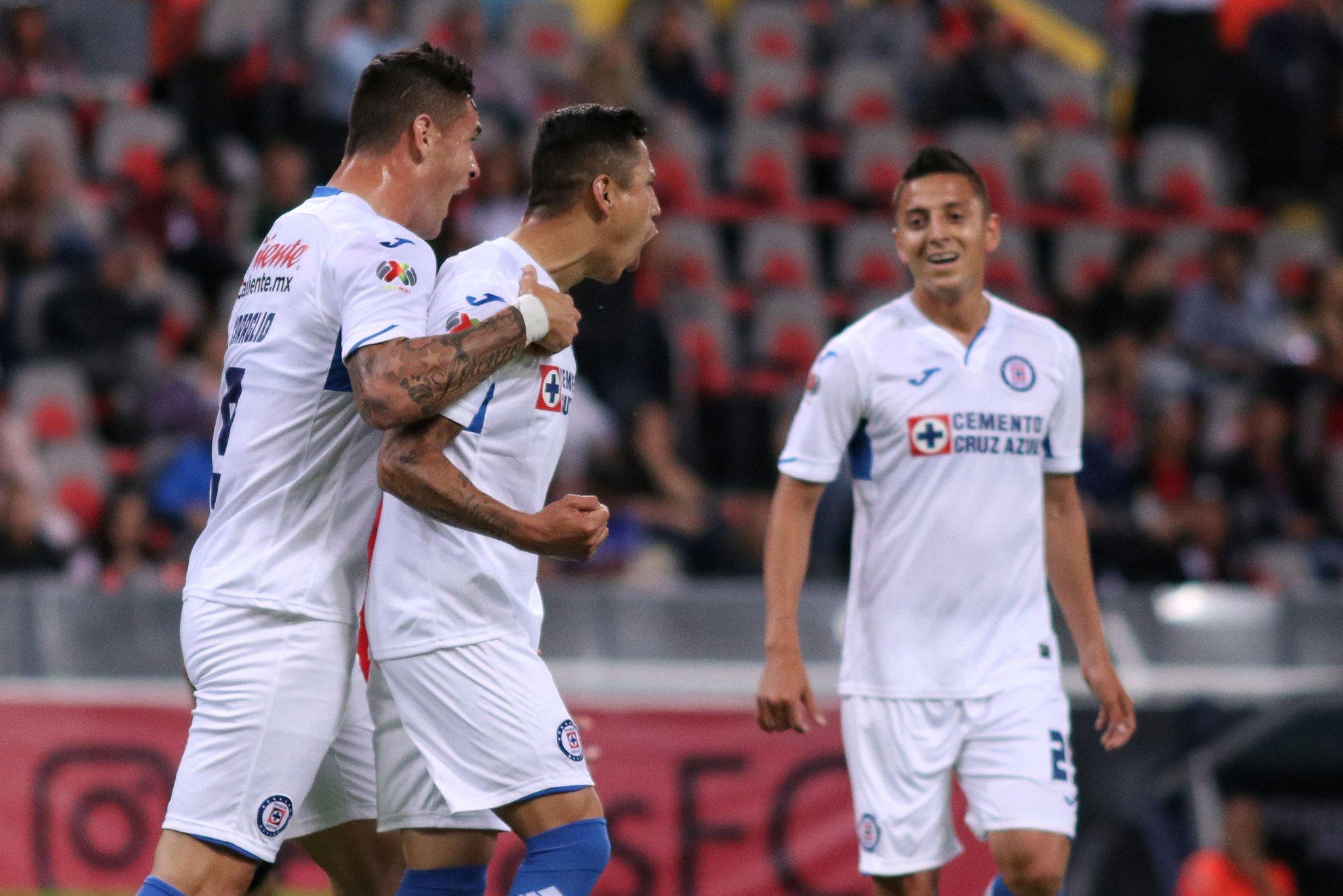 Cruz Azul gana 4-1 al Pachuca Fecha 11 2019