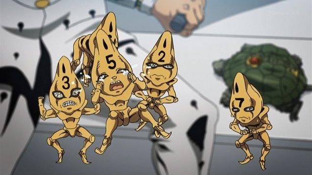 ガッツが足りないよ~~~~ #jojo_anime https://t.co/O8j2Xl5pHk