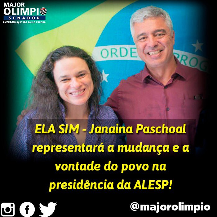 Major Olimpio's photo on PT e PSDB