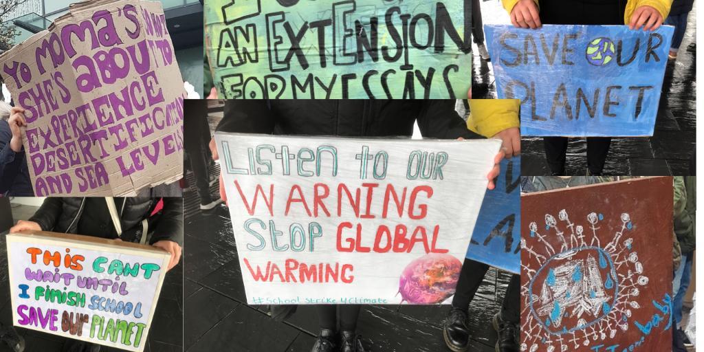 FoE Cymru's photo on #YouthStrike4Climate