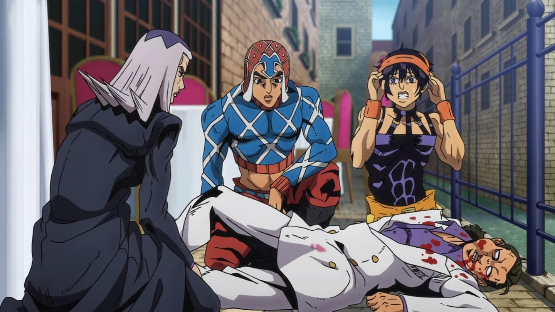 ただの一般人だった #jojo_anime https://t.co/3ejusLfMyS