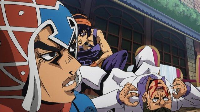 ノリいいなアバッキオ #jojo_anime https://t.co/VuUu7W6jhP