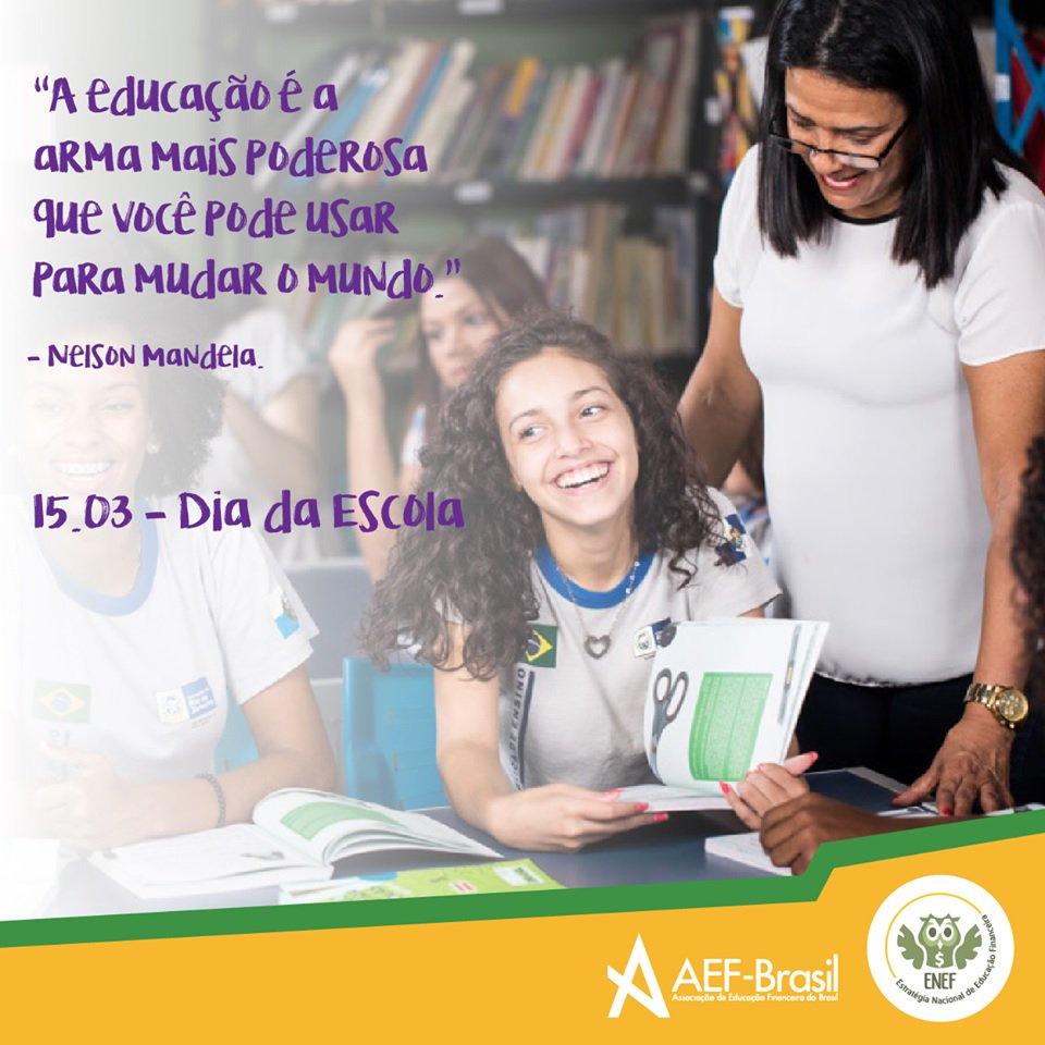 AEF Brasil's photo on #DiaDaEscola