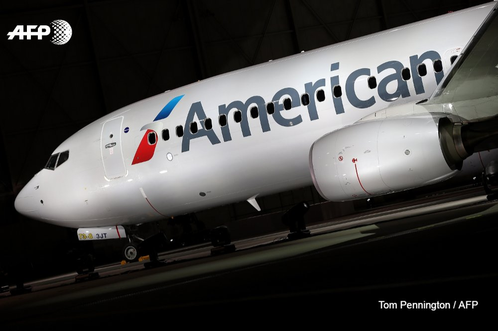 Agence France-Presse's photo on american airlines
