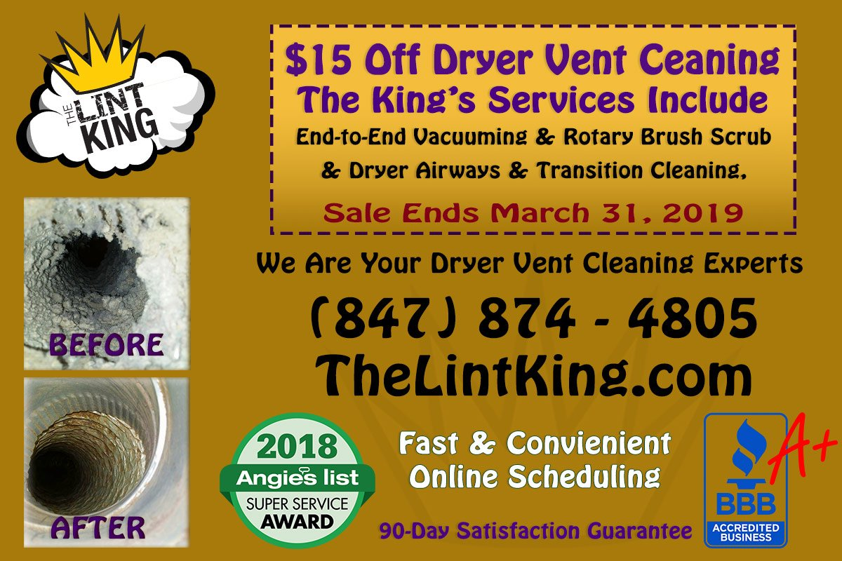 The Lint King's photo on Cleaning