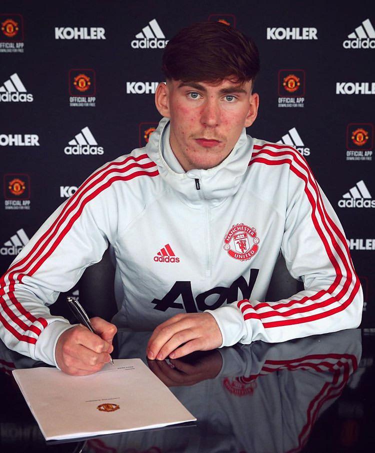 Manchester United's photo on james garner