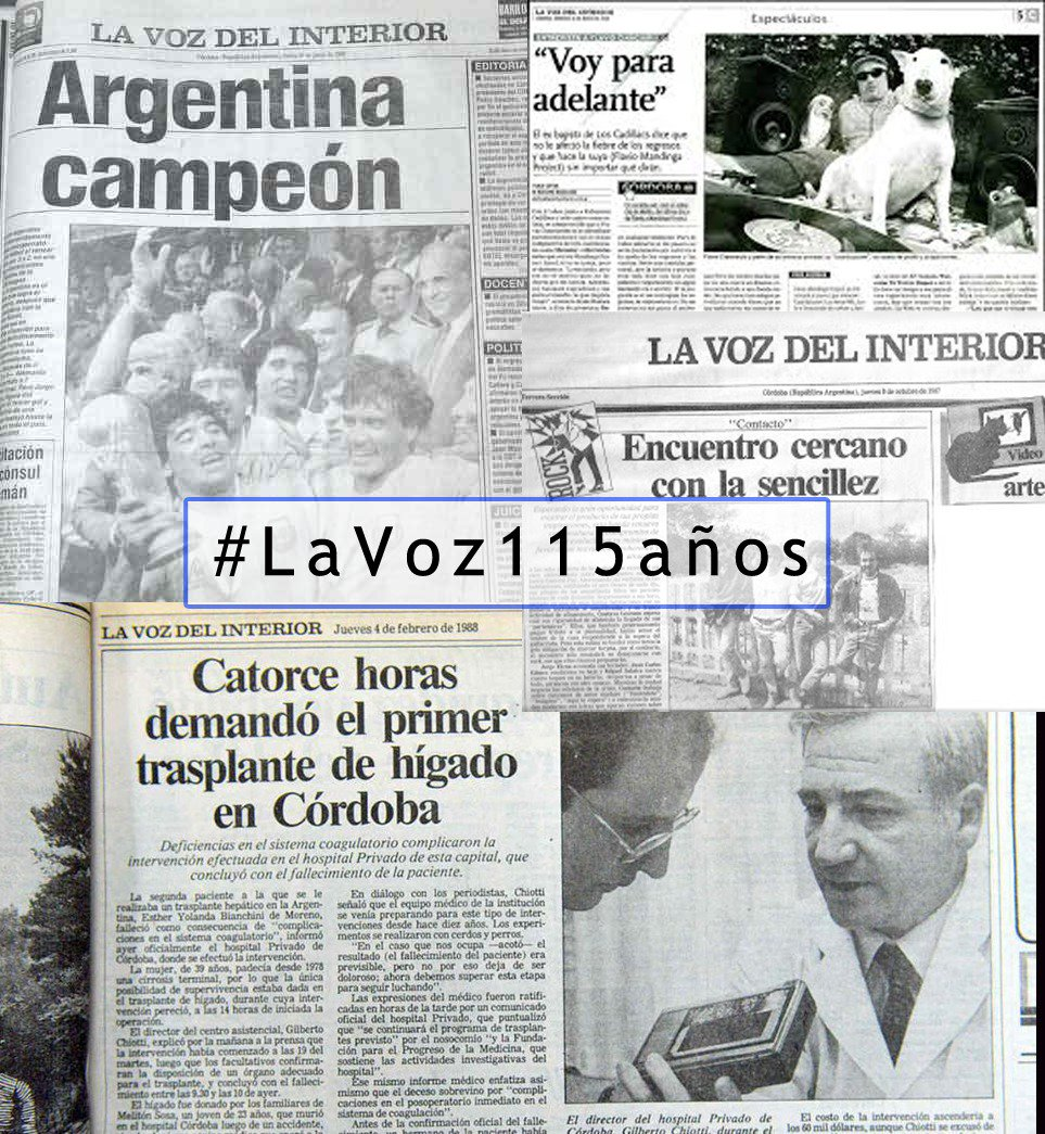 Marcelo Rodio's photo on #LaVoz115años