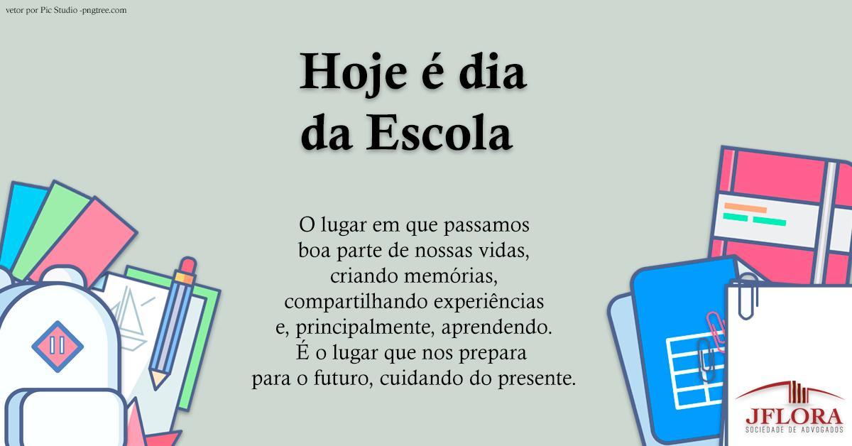 J.Flora Sociedade de Advogados's photo on #DiaDaEscola