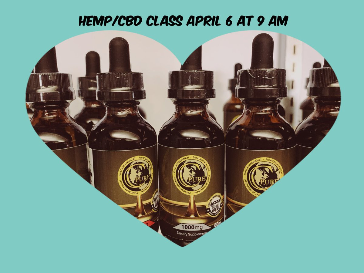 We are having a hemp/CBD class on April 6 at 9 am. Would you like to learn?  This will be a casual, open conversation & sample trying event. Come join us! #CBD #cbdclass #cbdeducation #purecannaceutical #learning #stlouis #wanderthewooddtk #kirkwood #63122 #314 #samples